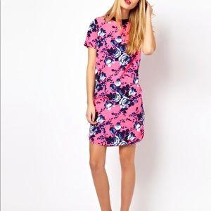 ASOS Floral T-Shirt Dress